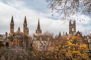 Aberdeen Schottland Panorama