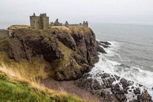 Blick auf Dunnottar Castle Schottland