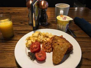Schottisches Frühstück in Aberdeen