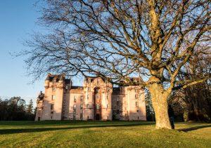 Das Fyvie Castle in Aberdeenshire