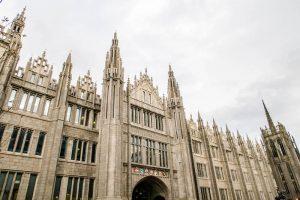 Marischal College in Aberdeen Schottland