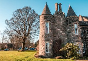 Meldrum House Aberdeenshire außen