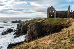 Slains Castle in Aberdeenshire Schottland