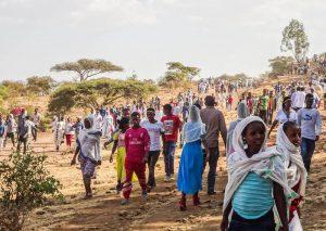 Local people in Ethiopia