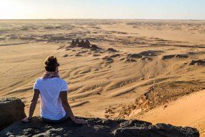Viewpoint in the Sahara