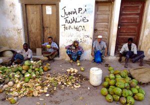 Local life in Lamu island