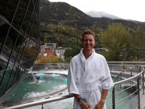 Im Spa in Andorra