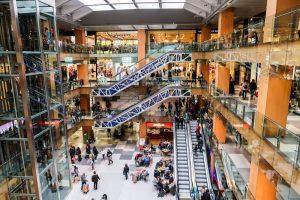 Einkaufszentrum in Andorra