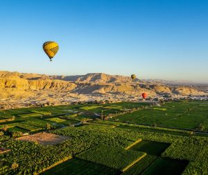 View of Luxor in Egypt