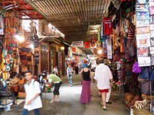 Souk markets in Marrakech
