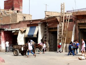 Backpacking Marrakech: Loca streets