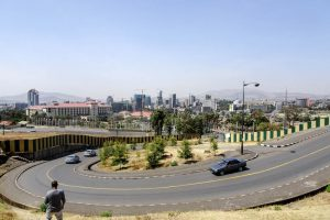 Skyline of Addis Abeba