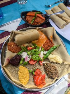 Ethiopia travel tip - enjoy the food