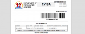 Visum Kenia: der e-Visum Antrag