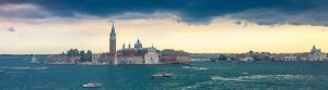 Panorama Blick auf Venedig