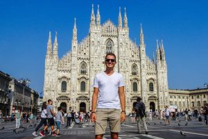 Der sehenswerte Duomo in Mailand