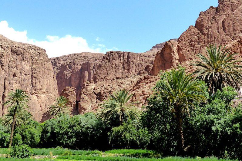 Schlucht in Marokko: Weitere Infos zur Einreise nach Marokko