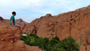 Die Dates Schlucht bei der Marokko Wüstentour