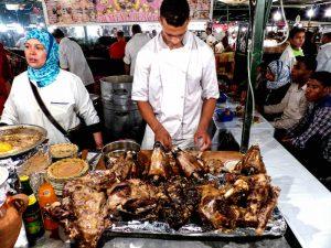 Essensmarkt in Marrakesch