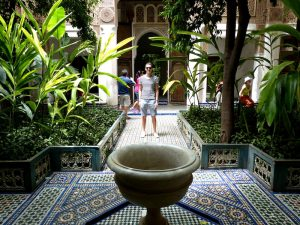 Museum visit in Marrakech Morocco