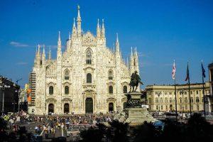 Der Domplatz als Highlight beim Kurztrip nach Mailand