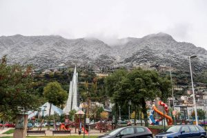 Blick auf die Berge um Andorra