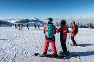Im Skigebiet Wilder Kaiser