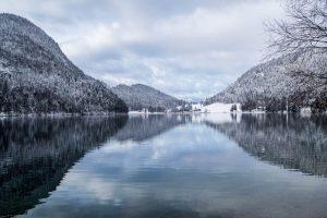 Verschneiter Hintersteiner See