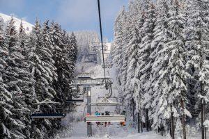 Gondeln an der Skiwelt Wilder Kaiser