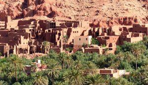 Ein Dorf der Berber in Marokko