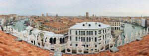 Sehenswerte Aussicht auf Venedig von der T-Fondaco