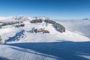Pisten der Skiwelt Wilder Kaiser Brixental