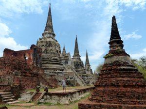 Tempelanlage von Ayutthaya