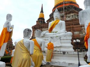 Backpacking Thailand in Ayutthaya