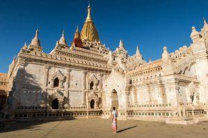 Berühmter Tempel in Bagan