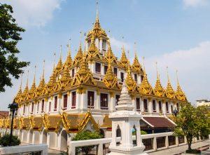 Blick auf goldenen Tempel