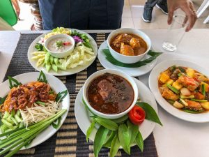 Dishes in Thailand
