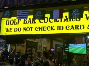 Infamous Khao San Road bar