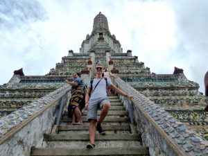 Bangkok Sightseeing am Wat Arun