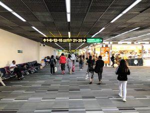 Bereich am Flughafen