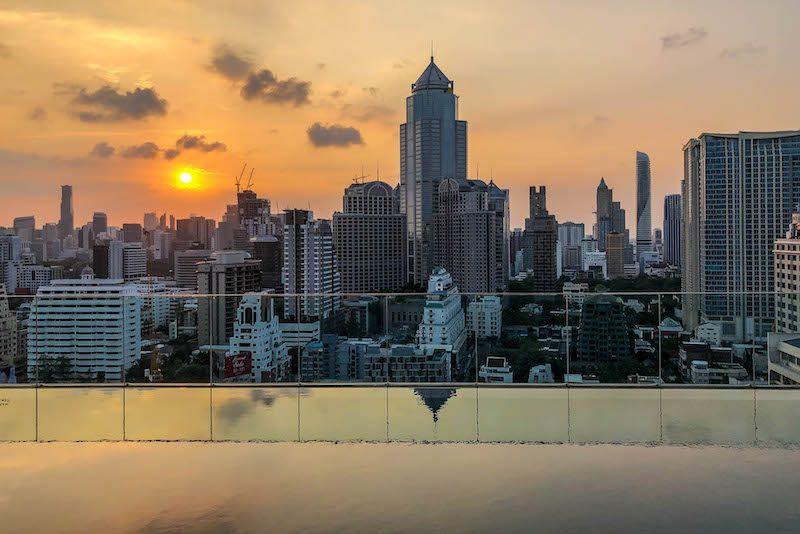 Rooftop Aussicht Bangkok