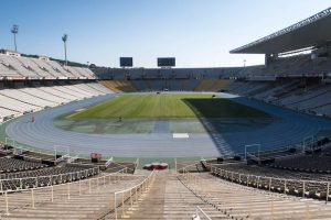 Free stadium to visit when backpacking barcelona