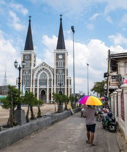 Kirche in Chanthaburi Thailand