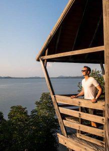 Aussicht auf die Küste bei Chanthaburi