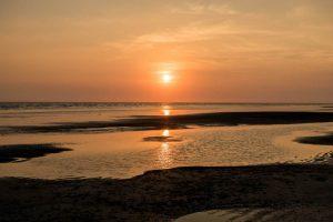Der Sonnenuntergang beim Tagesausflug von Bangkok nach Chanthaburi