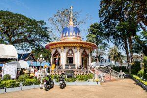 Der Tempel von Chanthaburi in Thailand