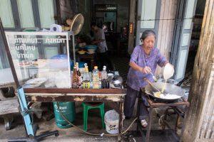 Thailändische Locals in Chanthaburi