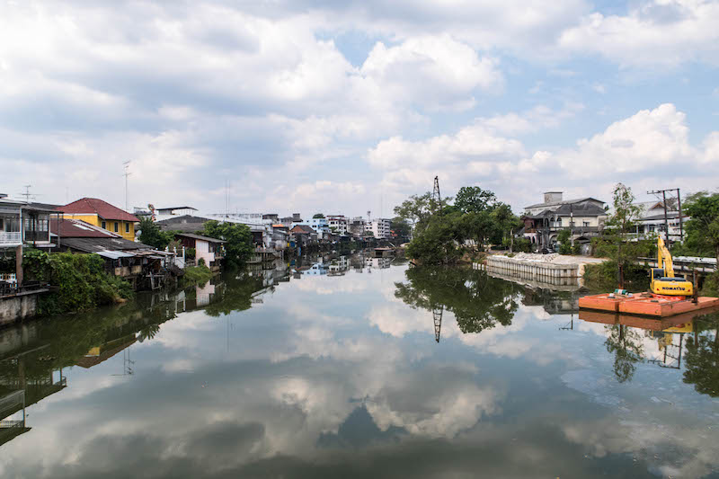 Fluss in Chanthaburi, Thailand