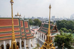 Temple sightseeing in Bangkok