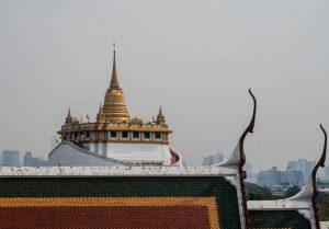 Sehenswerter Tempel in Bangkok, der Golden mount